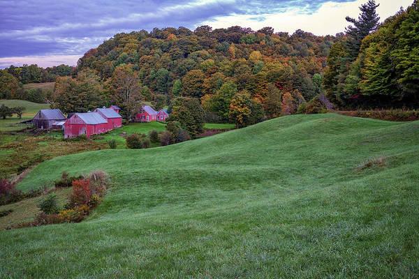 Photograph - Rolling Hills Of Jenne Farm by Rick Berk