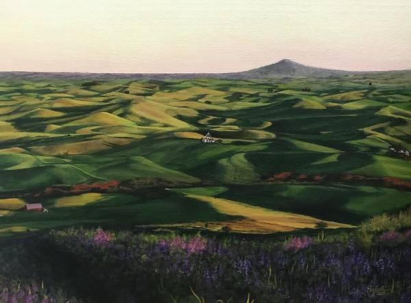 Painting - Rolling Hills Of Palouse by Elizabeth Mundaden