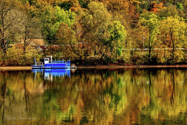 Red Wall Art - Photograph - Rolling On The River by Kathi Isserman