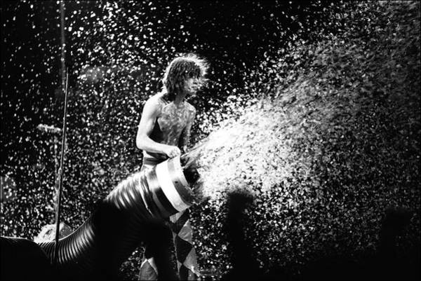 Photograph - Rolling Stones Concert In Paris, France by Francois Lochon