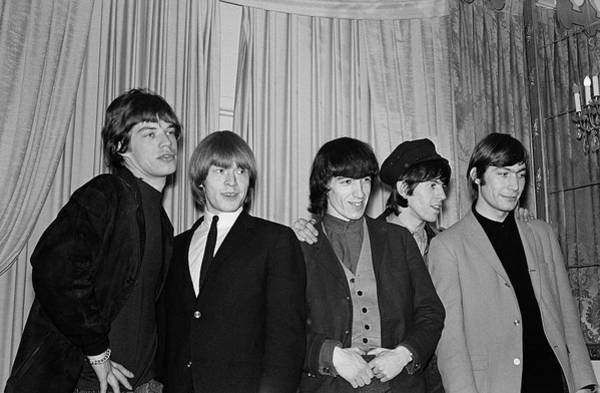 Photograph - Rolling Stones In New York City by Michael Ochs Archives
