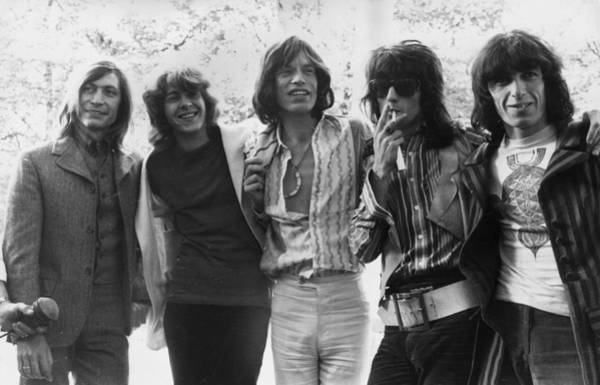 Smiling Photograph - Rolling Stones by J. Wilds