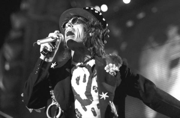 New Jersey Photograph - Rolling Stones Mick Jagger Performs At by New York Daily News Archive