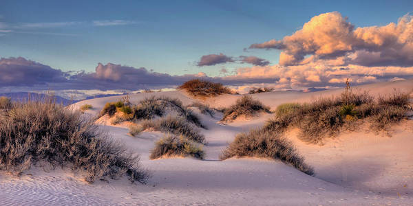 Rolling White Sands  Art Print