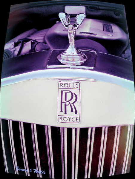 Photograph - Rolls Royce Automobile by Bonnie Willis