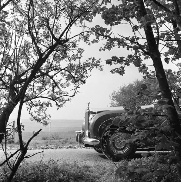 Rolls Royce Hood Ornament Photograph - Rolls Royce by Bert Hardy Advertising Archive