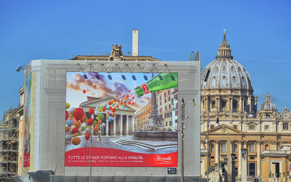Photograph - Roma Old And New by JAMART Photography