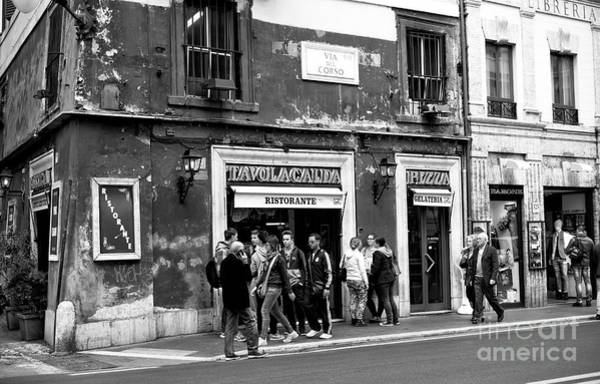 Photograph - Roma On The Street by John Rizzuto