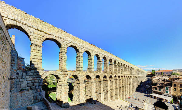 Photograph - Roman Aqueduct Of Segovia From The North by Weston Westmoreland