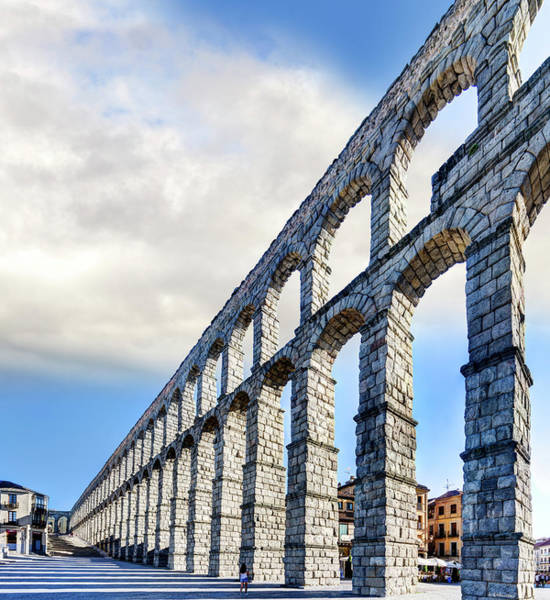 Photograph - Roman Aqueduct Of Segovia by Weston Westmoreland