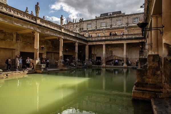 Photograph - Roman Bath In Bath United Kingdom  by John McGraw