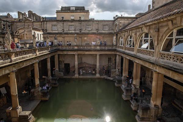Wall Art - Photograph - Roman Baths In Bath England  by John McGraw