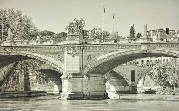 Photograph - Roman Bridges Of The River Tiber  by JAMART Photography