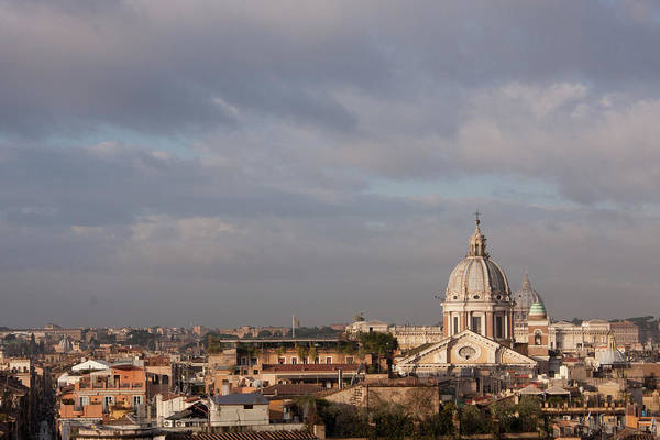 Pasquale Photograph - Roman Cityscape With Basilica by Nico De Pasquale Photography