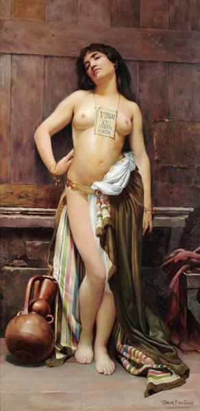 Wall Art - Painting - Roman Slave, 1894 by Oscar Pereira da Silva