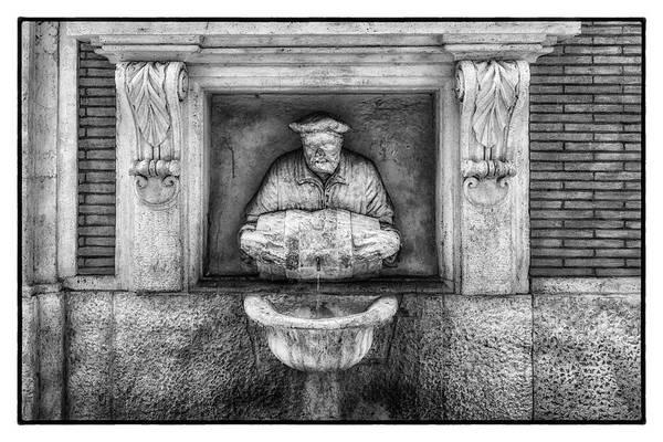 Photograph - Roman Water Fountain by Wolfgang Stocker