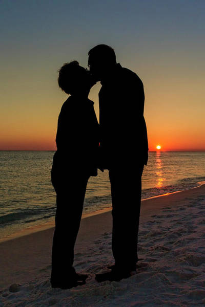 Photograph - Romance On The Beach by Kay Brewer