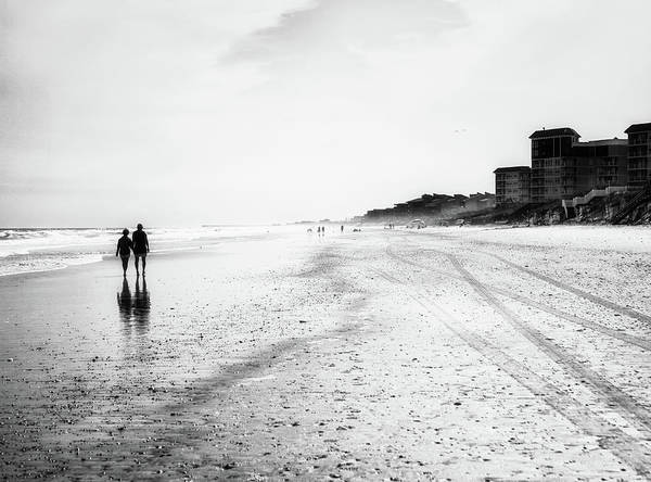 Romance Photograph - Romance On The Beach by Marilyn Nieves