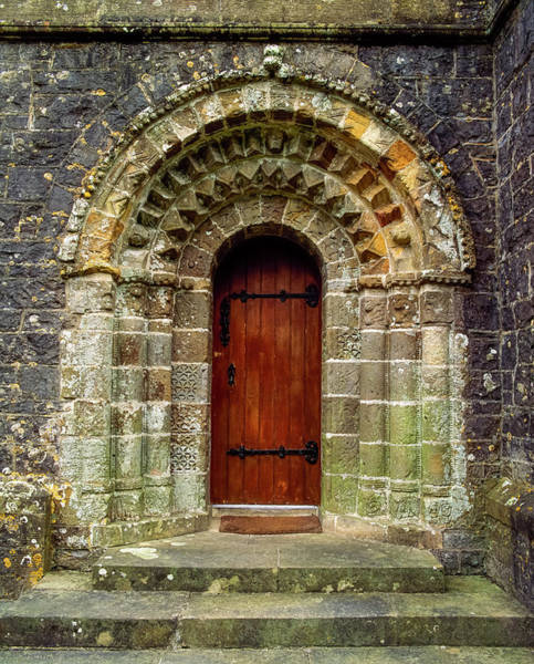 Wall Art - Photograph - Romanesque Doorway, 12th Century, St by The Irish Image Collection