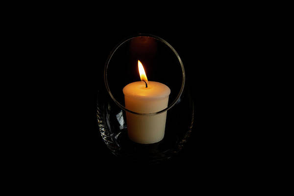 Photograph - Romantic Candle by Jennifer Wick