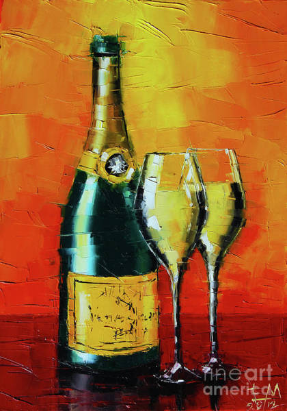 Valentines Painting - Celebration by Mona Edulesco