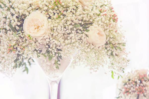 Photograph - Romantic Floral Wedding Decor 1 by Jenny Rainbow