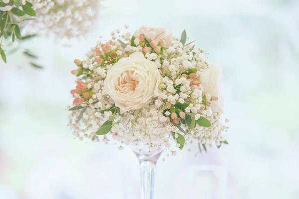 Photograph - Romantic Floral Wedding Decor 7 by Jenny Rainbow