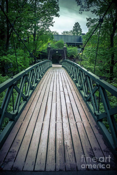 Wall Art - Photograph - Romantic Kissing Bridge by Colleen Kammerer
