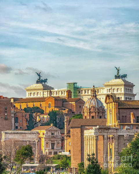 Wall Art - Photograph - Rome Alter Of The Fatherland by Antony McAulay