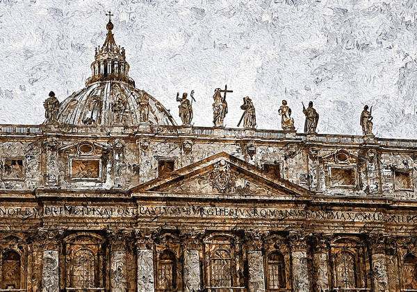 Painting - Rome And The Vatican City - 08 by Andrea Mazzocchetti