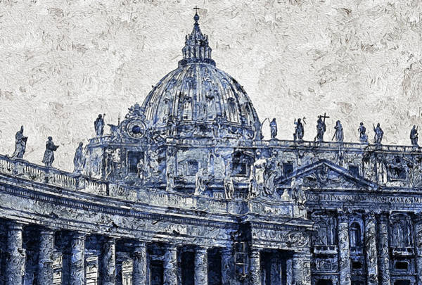Painting - Rome And The Vatican City - 09 by Andrea Mazzocchetti
