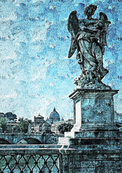 Painting - Rome And The Vatican City - 13 by Andrea Mazzocchetti