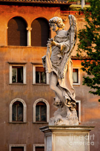 Photograph - Rome Angel by Brian Jannsen