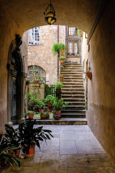Photograph - The Cobblestone Streets Of Sorrento Italy by Robert Bellomy