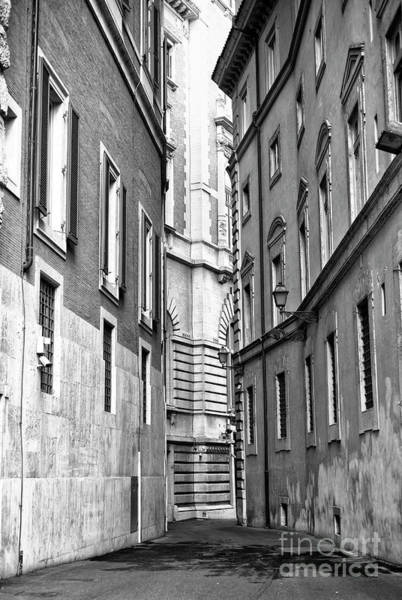 Photograph - Rome Beyond The Building by John Rizzuto