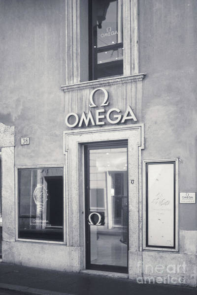Wall Art - Photograph - Rome Bw - Omega Store by Stefano Senise