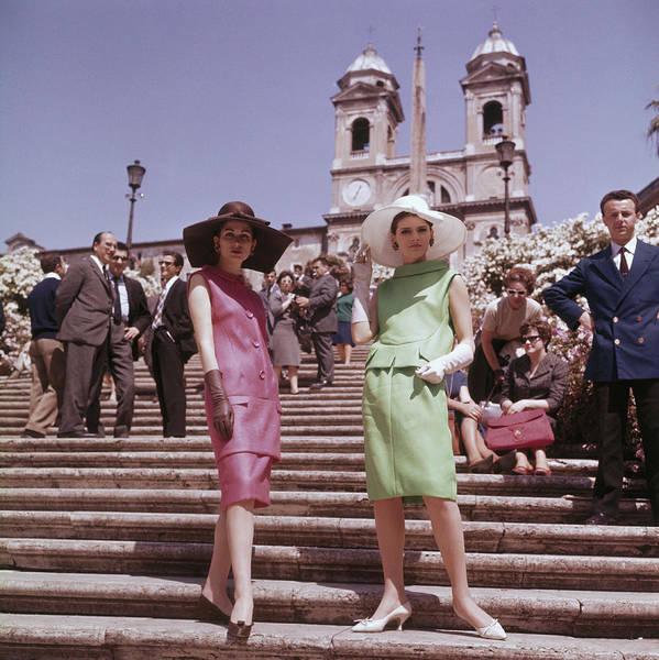 Sun Hat Photograph - Rome Fashion by Keystone