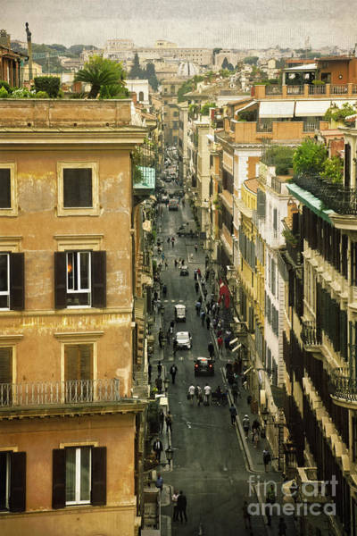 Wall Art - Photograph - Rome In The Morning by Mary Machare