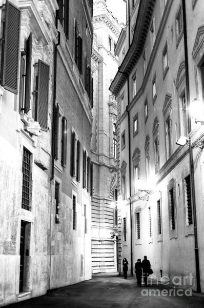 Photograph - Rome In The Shadows by John Rizzuto