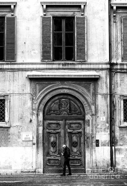 Neighborhood Photograph - Rome Italy Mood by John Rizzuto