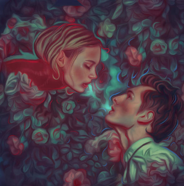 Romeo And Juliet Digital Art - Romeo And Juliet by Damir Martic