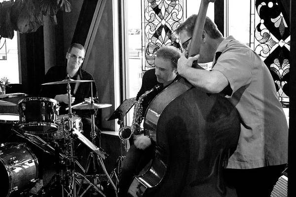 Photograph - Ron Kieper Trio 2 by Lee Santa