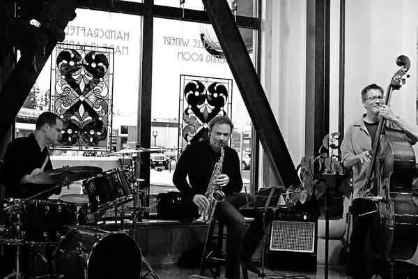 Photograph - Ron Kieper Trio 4 by Lee Santa