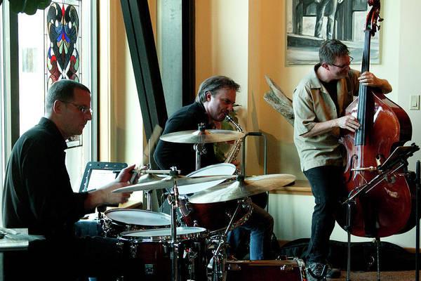 Photograph - Ron Kieper Trio 5 by Lee Santa