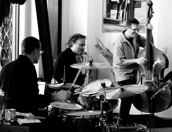 Photograph - Ron Kieper Trio by Lee Santa