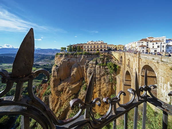 Wall Art - Photograph - Ronda, Malaga Province, Andalusia by Ken Welsh