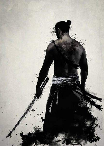 Asian Wall Art - Digital Art - Ronin  by Nicklas Gustafsson