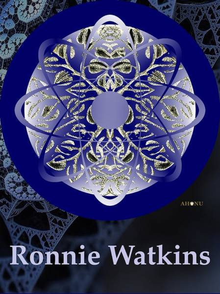 Mixed Media - Ronnie Watkins Soul Portrait by Ahonu