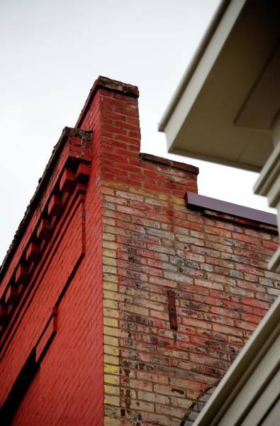 Photograph - Roofline Details by Jerry Sodorff