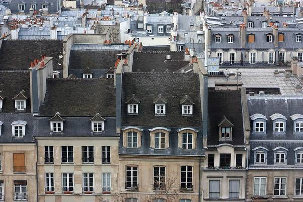 Paris Rooftop Photograph - Roofs Of Paris by Landscape And Urban Landscape